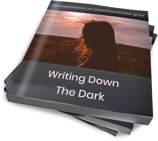 writing down the dark ebook cover